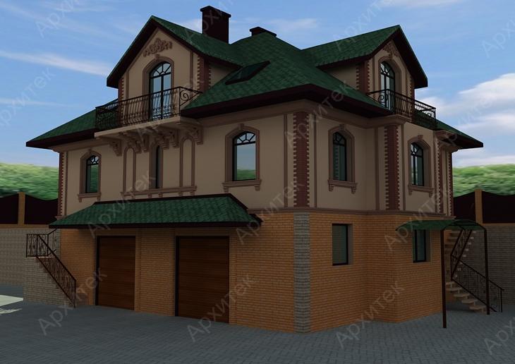 Карниз на фасад: материалы и виды