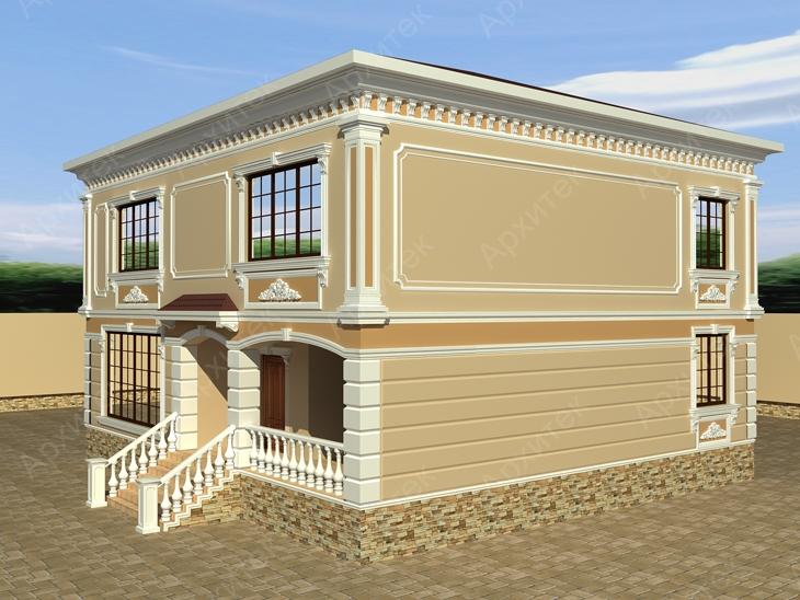 Дизайнерский фасад своими руками