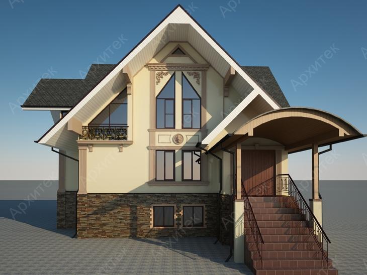 Декоративный фасад дома : «визитная карточка» его владельцев