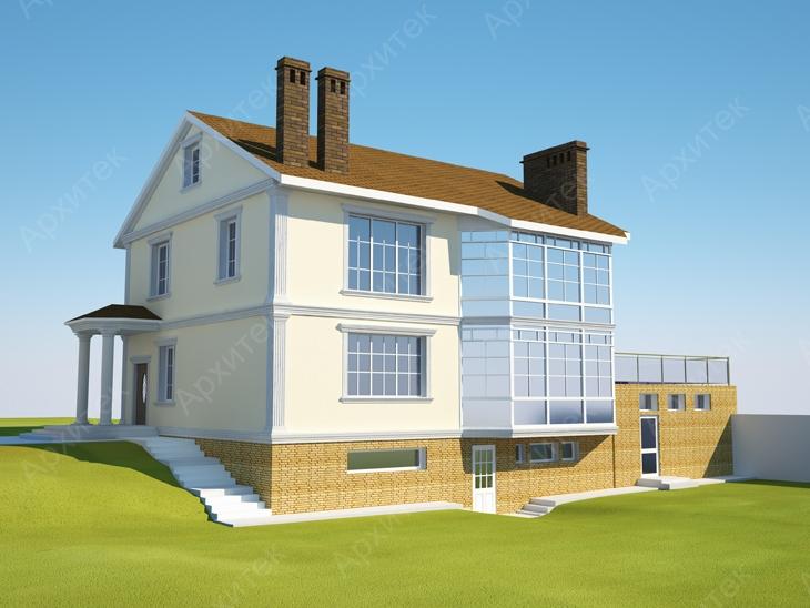 Красивый фасад дома должен быть прочным и практичным