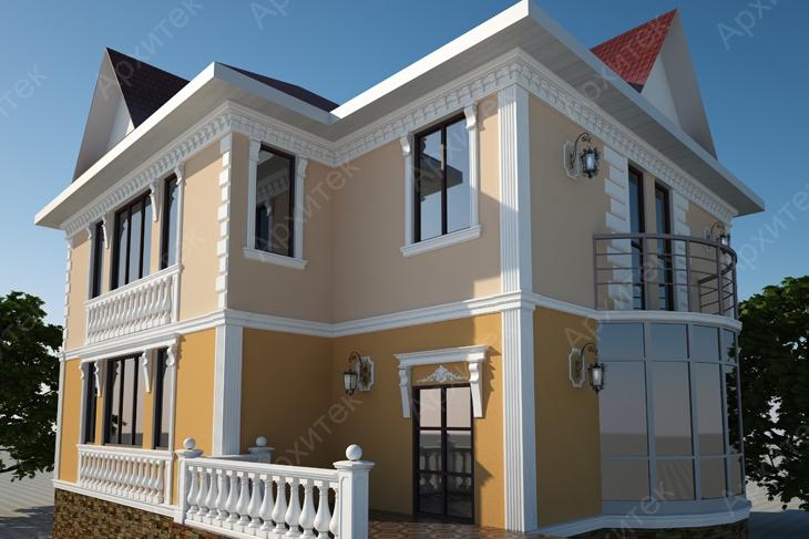 Красивый фасад здания: делаем дёшево и практично!
