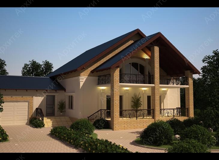 Красивый фасад одноэтажного дома: особенности отделки