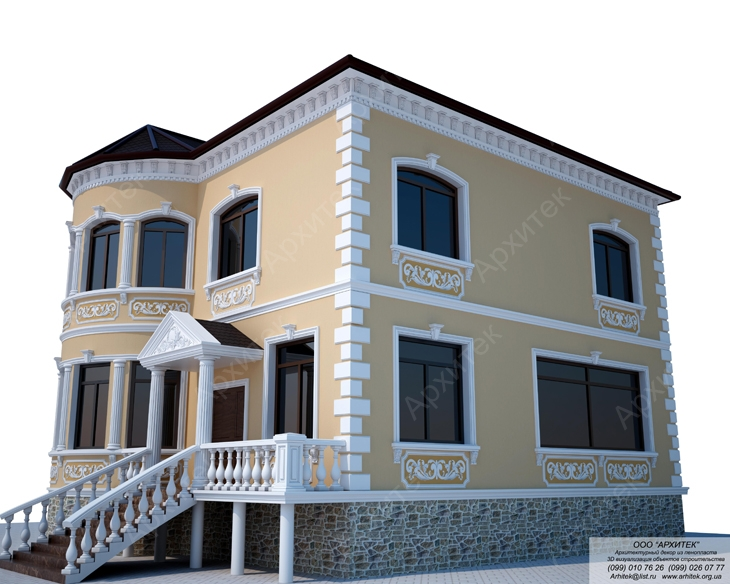 Фасадный декор от компании Архитек