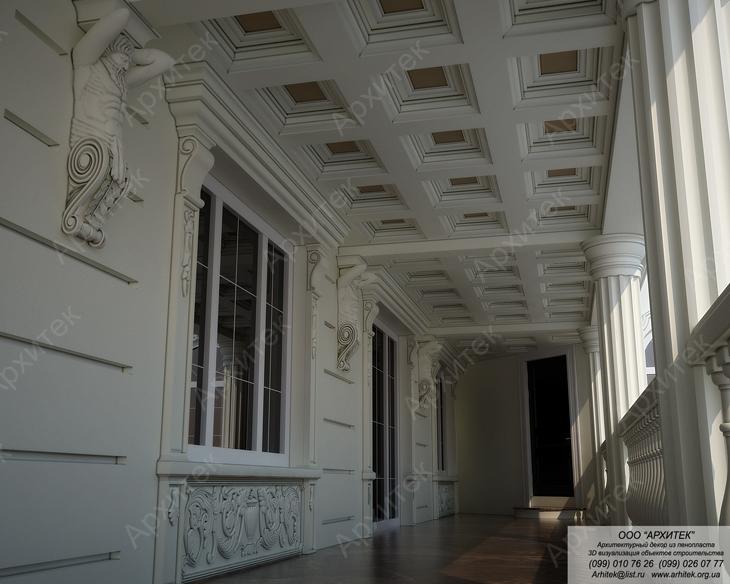 Пенопластовая лепнина для потолка