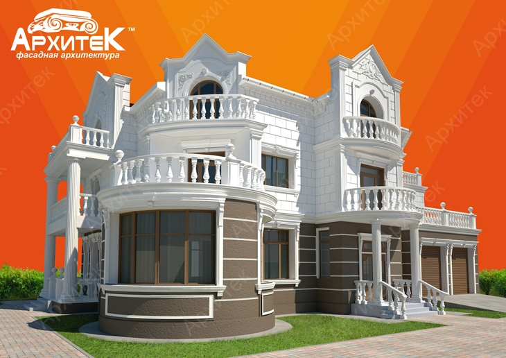 Фасадный лепной декор в Севастополе