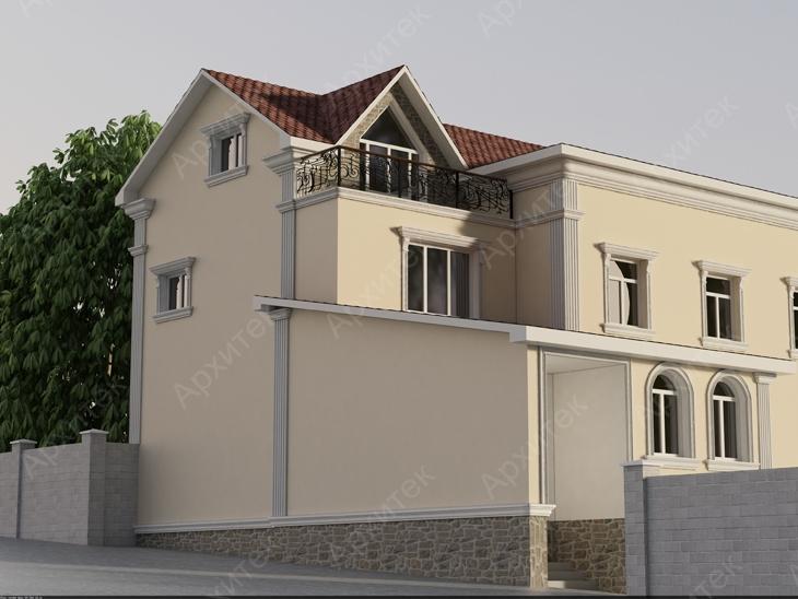 Элементы архитектурного фасадного декора