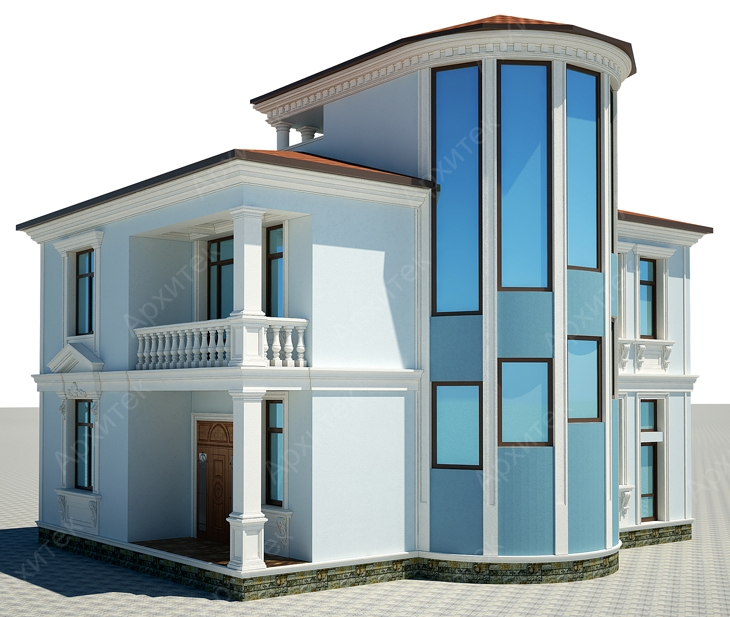 Архитектурный декор фасада из пенополистирола