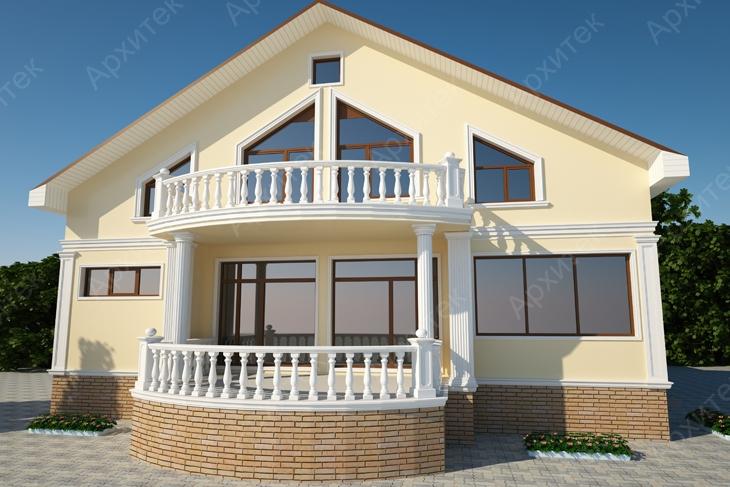 Фасадный лепной декор для дома