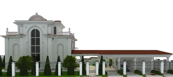 Русты из пенополистирола – роскошный фасад дома