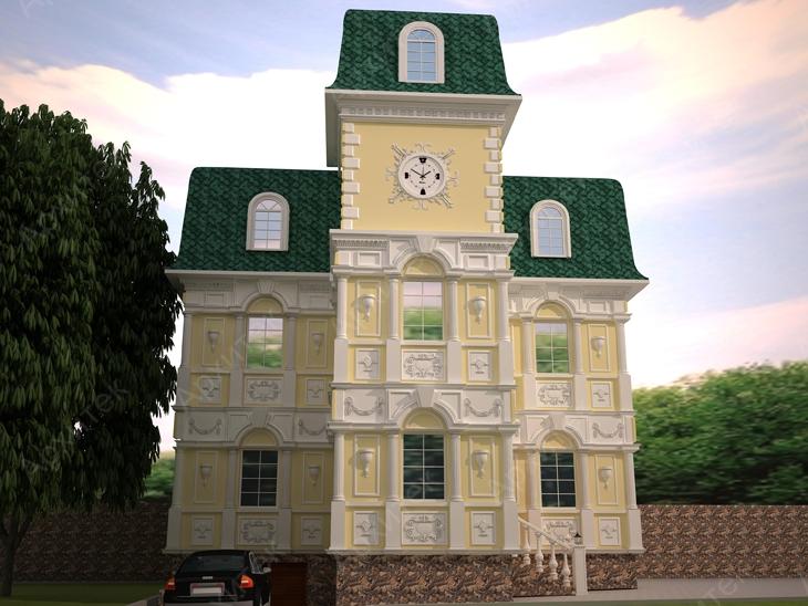 Архитектурные элементы для декора фасада