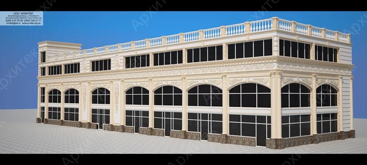 Декорирование фасадов зданий и новейшие технологии