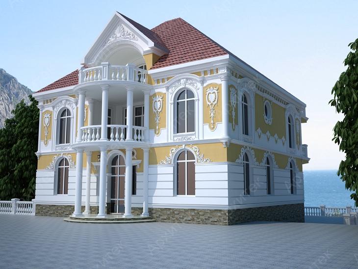 Современный стиль и фасадный декор